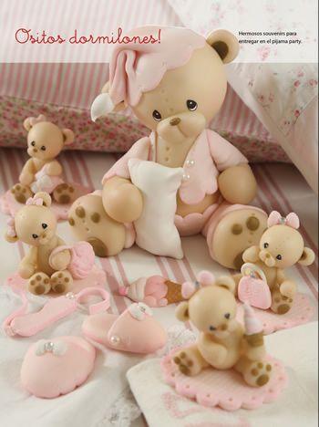 Ositos Dormilones - Porcelana Fría
