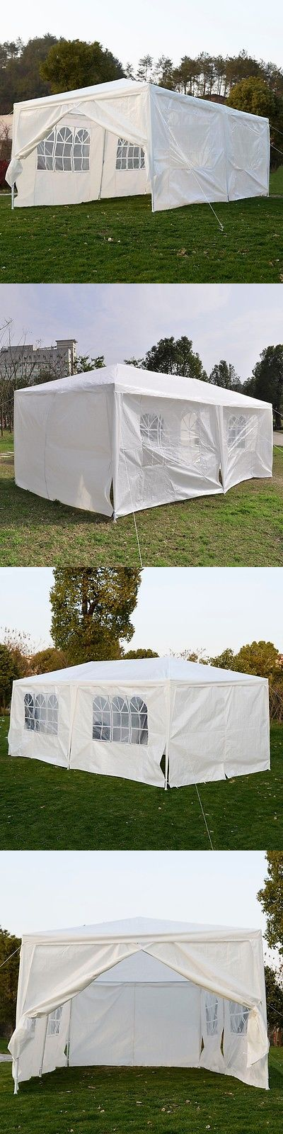 Other Tents and Canopies 179019: Outdoor 10X20 Canopy Party Wedding Tent Heavy Duty Gazebo Cater Events White BUY IT NOW ONLY: $93.99