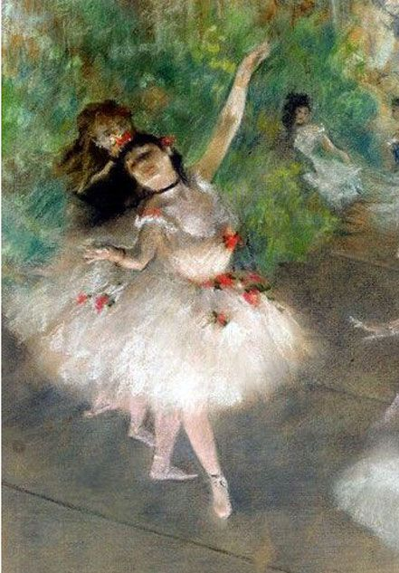 Degas ~ Ballet dancer.