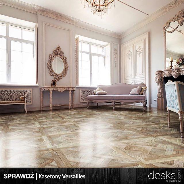Sprawdz Kasetony Imperi Larecoflooring Pl Deskadesign X Kaseton Versailles Dab Natur Lakier Wysoki Polysk Lekka Szczotk Floor Design Interior Home Decor