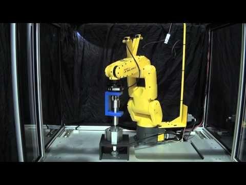 FANUC LR Mate 200iC Deburring Robot with FS-10iA Force Sensor