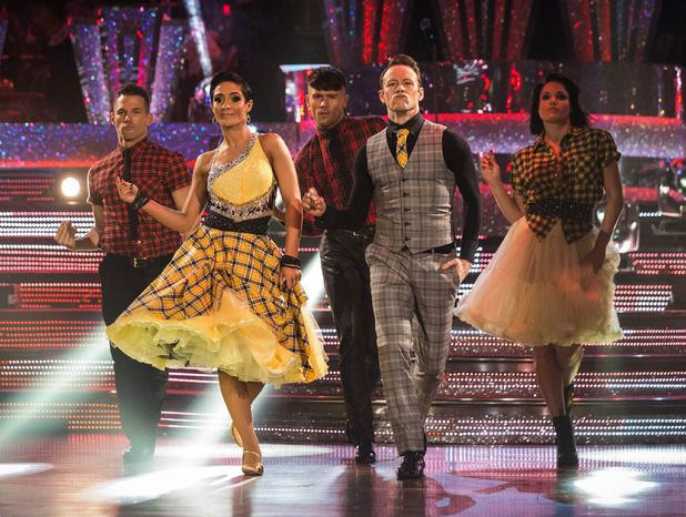 Frankie Bridge and Kevin Clifton on Strictly Come Dancing 2014: Week Eight
