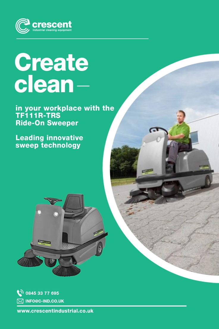 Topfloor TF111RTRS Ride on Sweeper for Warehouse and