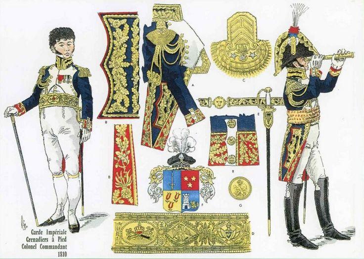Jean Marie Pierre Lepaige, comte DORSENNE, Colonel-Commandant des Grenadiers à Pieds de la Garde 1810