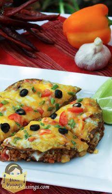 Menu Musings of a Modern American Mom: Skinny Mexican Pizza