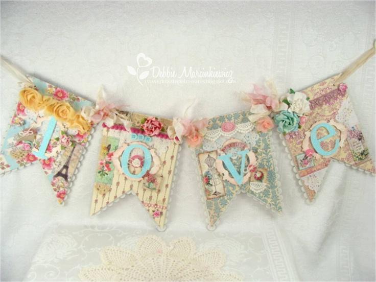 Love Banner - Crafty Secrets!