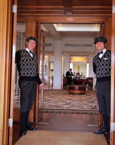 John and San our concierge always welcome you with a smile