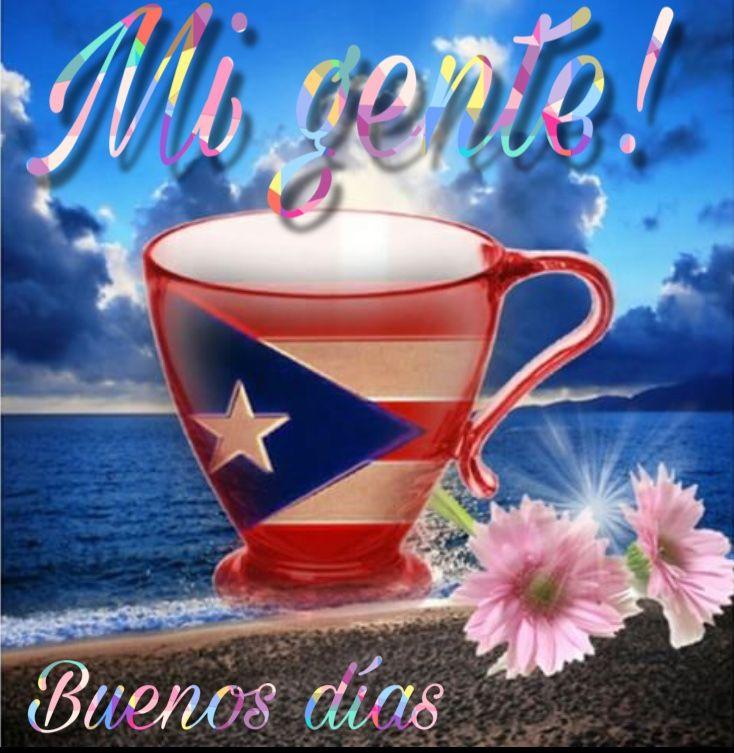 Que Dios Te Guie E Ilumine En Este Nuevo Dia Para Que Todo Lo Que Te Propongas Hacer Lo Puedas Lograr Ba Puerto Rico Pictures Puerto Rico Art Puerto Rican Flag