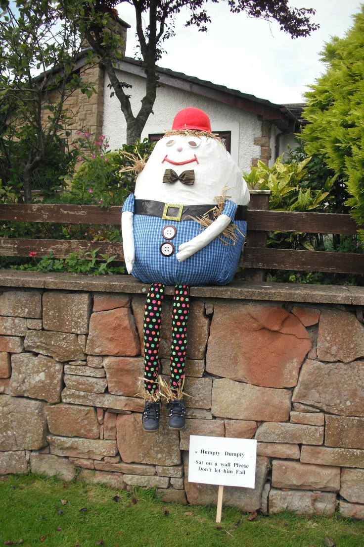 Humpty Dumpty sat on a wall.