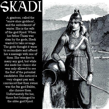 Image detail for -Norse mythology Skadi
