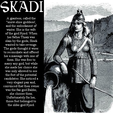 Image detail for -Norse mythology Skadi