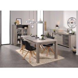 Parisot Gossip Dining Room Furniture Set - Clay Oak