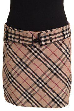 Burberry Classic Check Mini Skirt $250 SOLD!