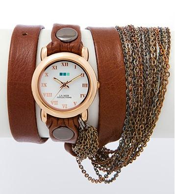 Часы La Mer Collections Prague - Brown