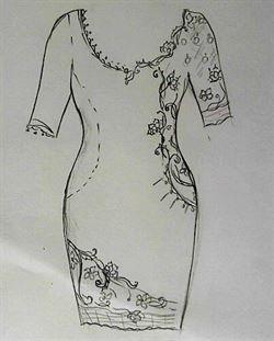 "Платье ""Paisley Blumarin"" - Ася Вертен"