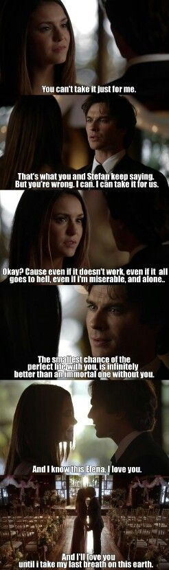 """#TVD 6x21 """"I'll Wed You in the Golden Summertime"""" - Elena and Damon"""