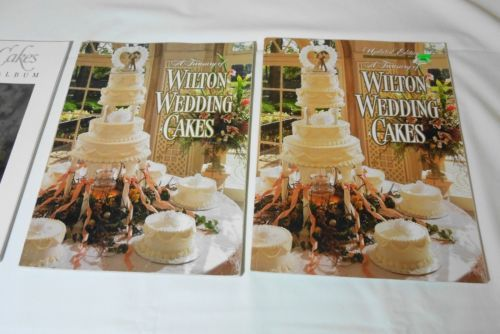 1991 - 2 Vintage A Treasury Of & Updated Wilton Wedding Cakes Decorating…