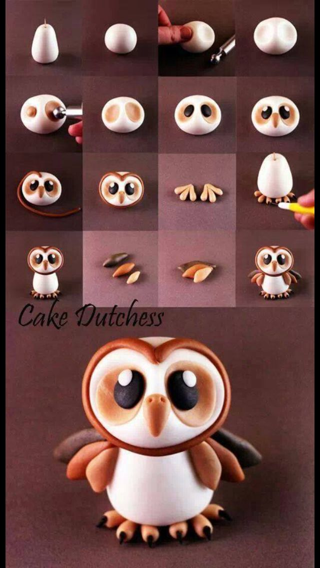 Owlet tutorial. I want to make these!