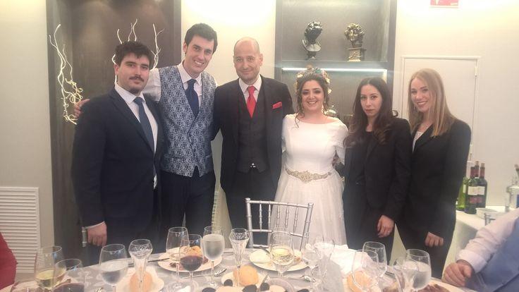 Historia de amor de Jose Luis y Rosa. ¡Enhorabuena pareja!