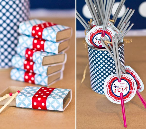 Fabulous 4th of July Sparklers - Can't forget to dress up the Sparklers! #chillingrillin