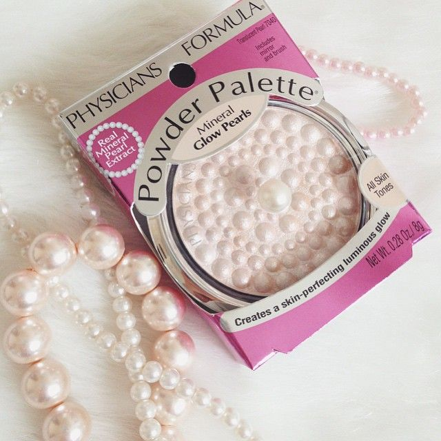 Excited to play with my new Physicians Formula pearl highlighter in a compact fit for a mermaid!