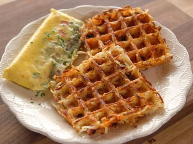 Get Wafflemaker Hash Browns Recipe from Food Network. Great to do ahead for camping.