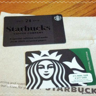 Starbucks Gift Cards スタバ ギフトカード | #Starbucks #GiftCard #スタバ #ギフトカード