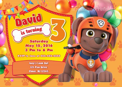 Zuma Invitation Zuma Paw Patrol Paw Patrol Invitation Zuma Birthday Paw Patrol Birthday Zuma Paw Patrol Birthday Invitation Paw Patrol Birthday Party Ideas Zuma Printables Paw Patrol Printables Paw Patrol Party Supplies Paw Patrol Printables  #pawpatrol #zuma  #birthday  #invitation  #partyideas #birthdayparty #tomasinadesign
