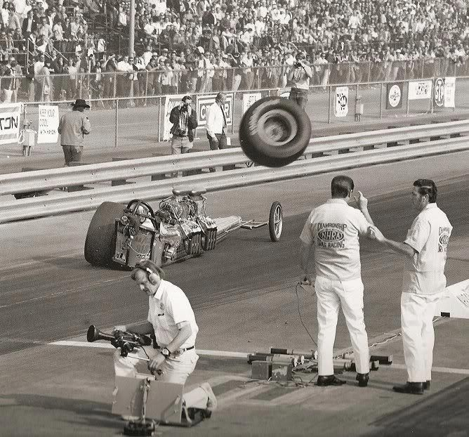 Drag Racing, danger tire in your face boys!  #OldSchoolNHRA