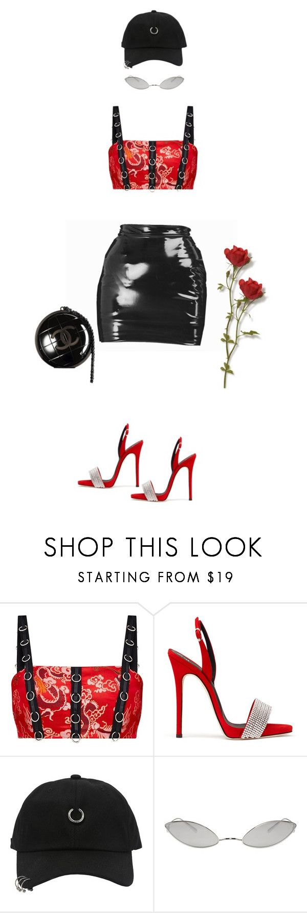 """""""Untitled #701"""" by milly-oro on Polyvore featuring Chanel, StyleNanda and Acne Studios"""
