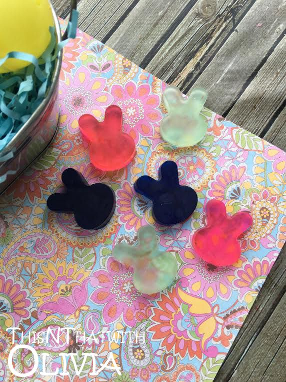 Mini Bunny Soaps for Easter! #Easter #DIY via @odouglass