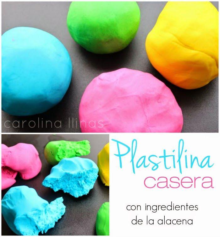 Nuestro Mundo Creativo: Receta para preparar plastilina con ingredientes de tu alacena