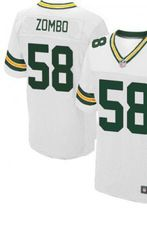 78.00 frank zombo white elite jersey nike stitched green bay packers 58