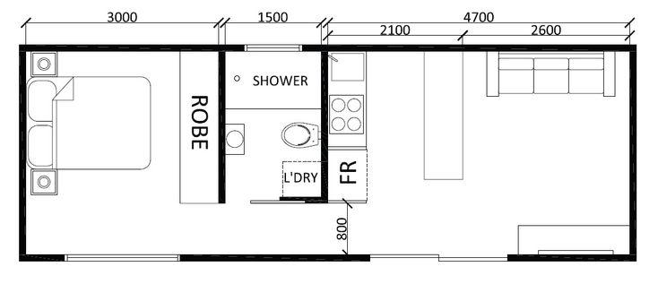 Lofty 1 Bedroom Granny Flat Designs 14 Timber Bloc…