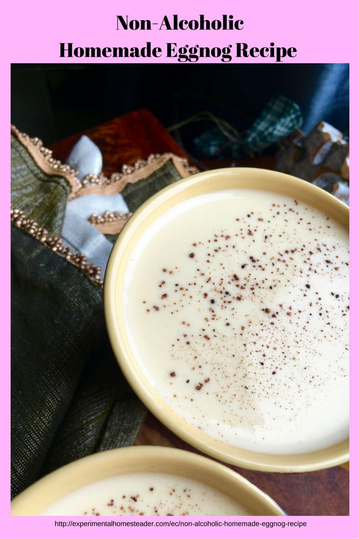 The 25 best non alcoholic eggnog recipe ideas on pinterest non alcoholic homemade eggnog forumfinder Gallery