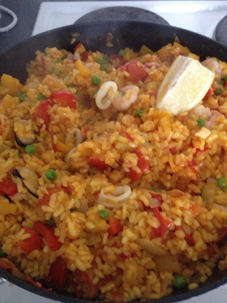 Slimming world paella