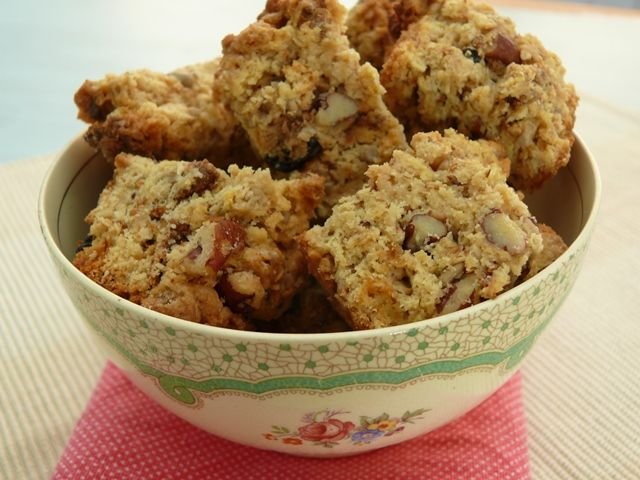 Pecan and Apple Rusks