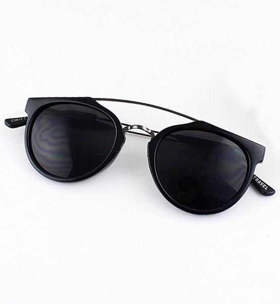 lunettes de soleil jante -Noir -French SheIn(Sheinside)