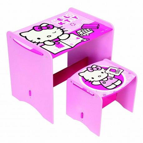 World Apart 461HLK - PUPITRE INFANTIL DE MADERA - Hello Kitty