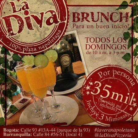 Brunch los domingos