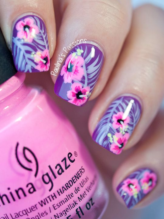 Tropical-Nails-by-Paulina's-Passions