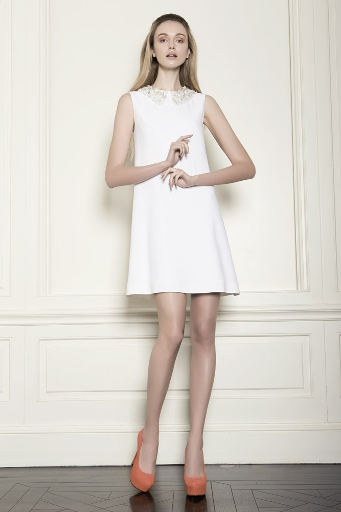 Little white dress: be your own princess.