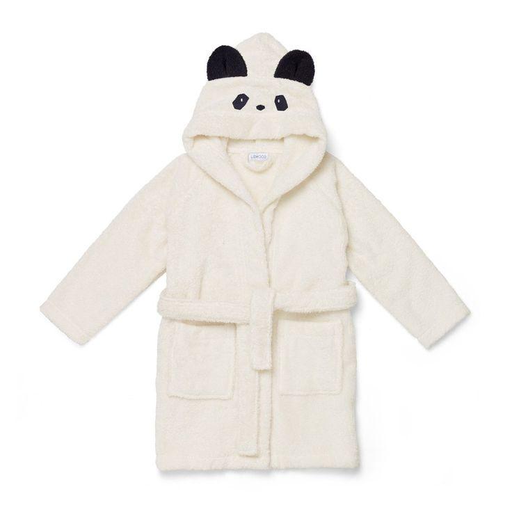 Bathrobe / Panda / Creme de la creme