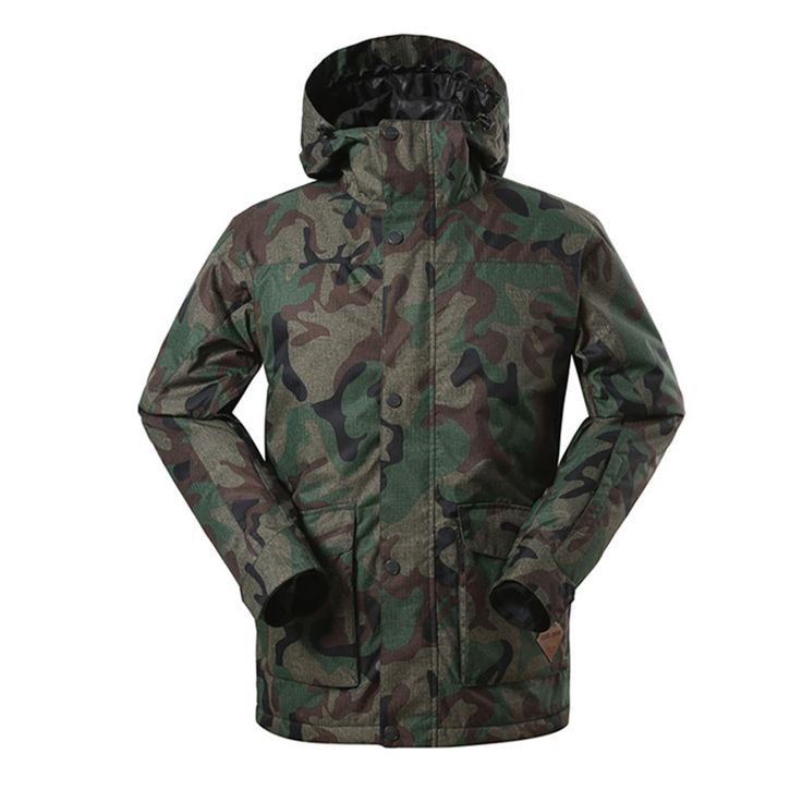 159.90$  Watch here - http://ali3ai.worldwells.pw/go.php?t=32435444533 - 2016 Winter Men's Insulated Snow Ski Snowboard Jacket Coat Camouflage Ski Suits for Men Veste Ski Homme ski jas heren 159.90$