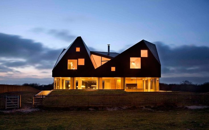 Britain's best new buildings: 2012 RIBA Award winners // The Dune House, Suffolk. Jarmund Vigsnaes Architects & Mole Architects