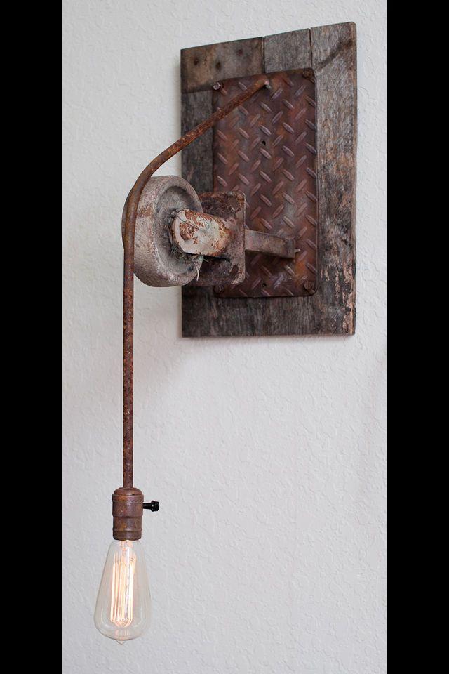 Diy industrial rustic pendant light vintage industrial for Diy rustic pendant light