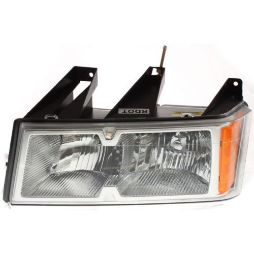 2005-2008 Chevy Colorado Head Light LH, Composite, Assembly, Halogen