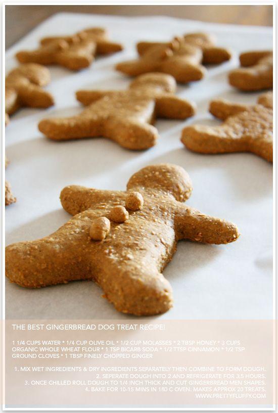 Gingerbread Dog Treat Recipe
