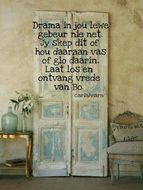 Drama in jou lewe..... #Afrikaans #InANutshell #self __carinhearn