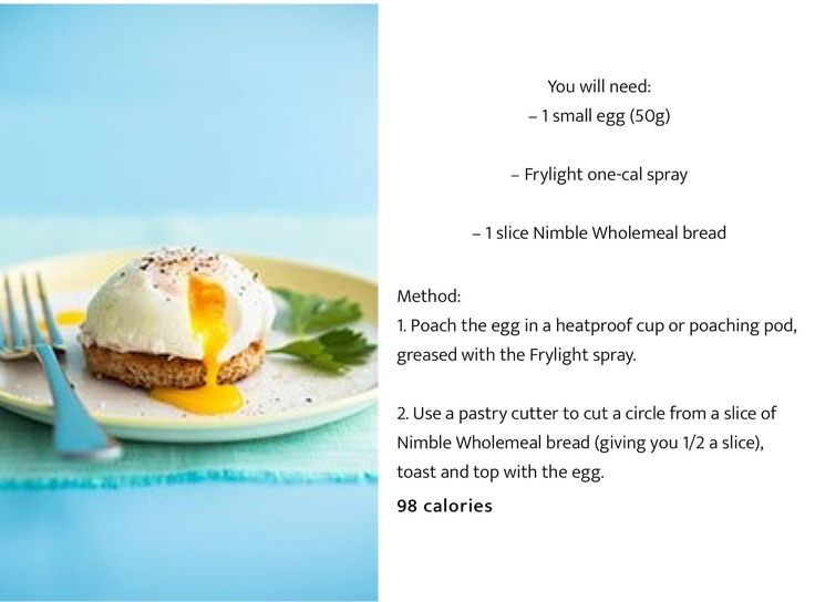 98 Calorie Breakfast Poached Egg #diet #Shred #WeightLoss #ActiLabs